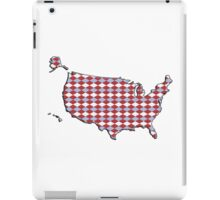 Argyle USA Silhouette iPad Case/Skin