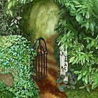 Garden Gate by Janet Boyd Art