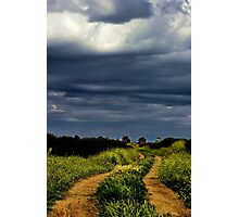 """""""Storms on the Path of Life"""" Photographic Print"""