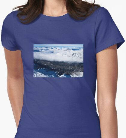 Mont Blanc Womens Fitted T-Shirt