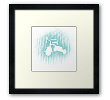 Tricycle of fun Framed Print