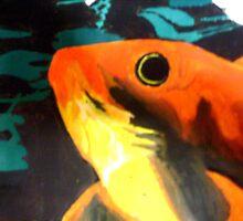 Oceanic fish by Latoya Leonce