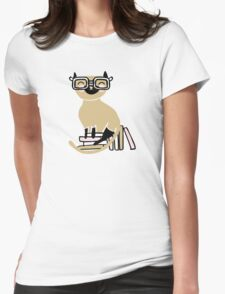 Smart Siamese Womens Fitted T-Shirt