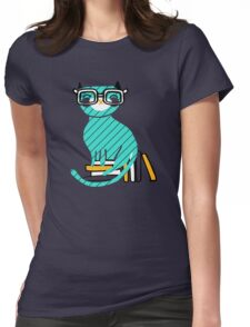 Smart Kitty Womens Fitted T-Shirt