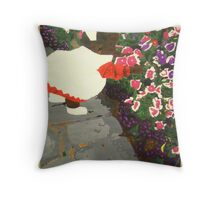 Flowers for toddlers Throw Pillow