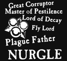 Nurgle, the Plague Father by Huertense