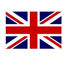 British, Union Jack Flag, 2:3, UK, United Kingdom, Command Flag by TOM HILL - Designer