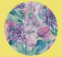 Blossoming - lilac, mint & aqua Kids Clothes