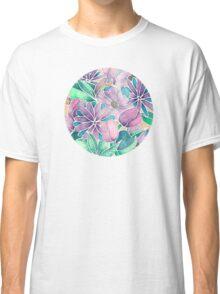 Blossoming - lilac, mint & aqua Classic T-Shirt