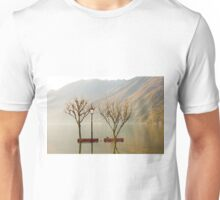 Benches and trees Unisex T-Shirt