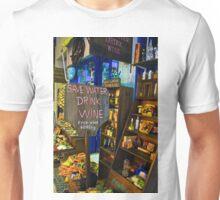 Fira Wine Shop Unisex T-Shirt