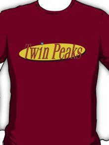 Twin Peaks - Seinfeld Style Logo T-Shirt