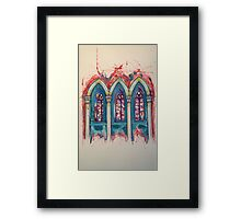 Wells Cathedral Series - 4 2014 Framed Print