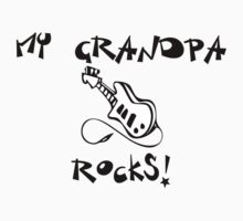 My Grandpa Rocks! Guitar Kids Clothes
