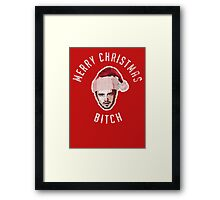 Merry Christmas. Bitch. Framed Print