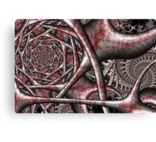 Arterial Steel Synapse Canvas Print