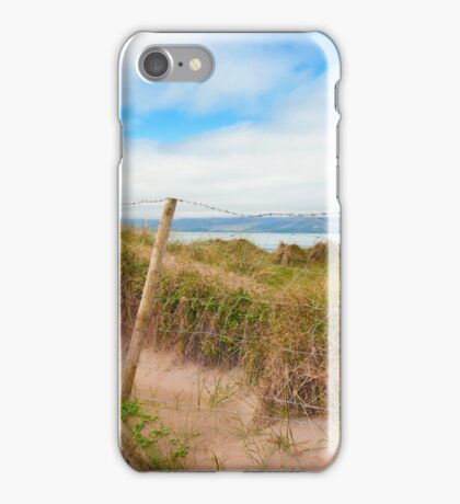 mesh wire fence at the maharees iPhone Case/Skin