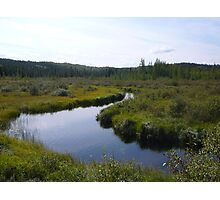 Meandering River Photographic Print