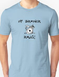 My Brother Rocks! Drums Unisex T-Shirt
