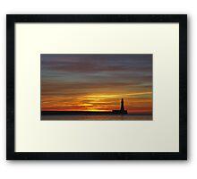 Roker Beach Framed Print