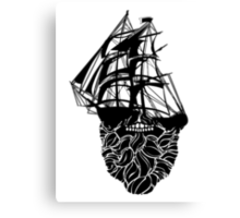 Beard Ship Canvas Print