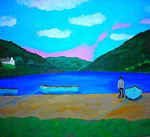 Lough Nafooey by Joni Philbin