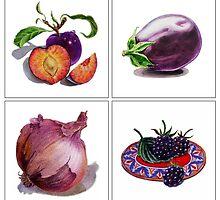 Purple Vitamins by Irina Sztukowski