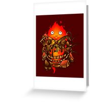 Pocket Calcifer Greeting Card