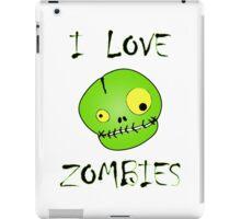 I Love Zombies iPad Case/Skin