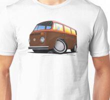 VW Bay Window Camper Van (F) Unisex T-Shirt