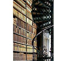 Trinity Library Dublin Ireland Photographic Print