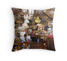 The Lamp Shop Throw Pillow