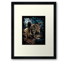 Night Hunt Framed Print