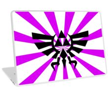 Zelda Triforce-Purple Laptop Skin, Mug, Travel Mug and Pillows Laptop Skin
