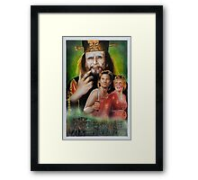 Big Trouble In Little China Art Framed Print