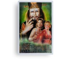 Big Trouble In Little China Art Canvas Print