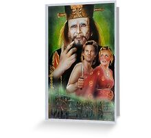 Big Trouble In Little China Art Greeting Card