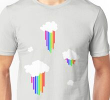 Rainbow Rain Unisex T-Shirt