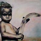 Aboriginal Boy by spiffing