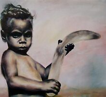 Aboriginal Boy by spiffing
