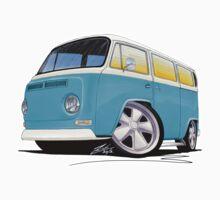 VW Bay Window Camper Van (E) by Richard Yeomans