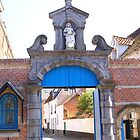 Lier - Beguinage Baroque Entrance Porch by Gilberte