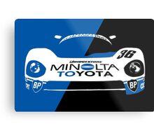 Minolta Toyota LeMans Print Metal Print