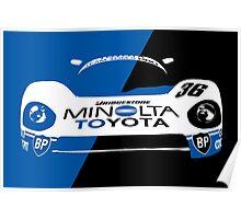 Minolta Toyota LeMans Print Poster