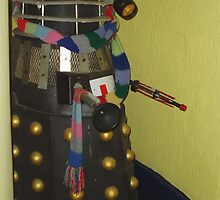 Dalek at the West usk Lighthouse by Danielle  Sheahan