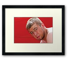 It's A Tough Job, But Someone Has To Do It. Framed Print