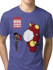 Big Hero Stark Tri-blend T-Shirt