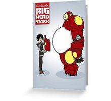 Big Hero Stark Greeting Card