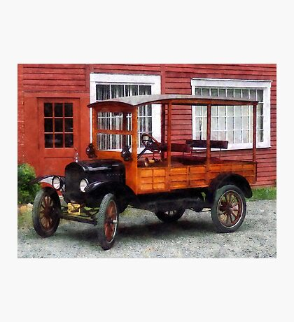 Model T Station Wagon Photographic Print