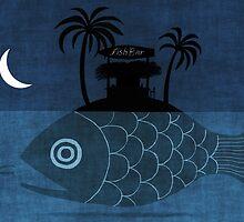 """Denpasar"" Illustration Toni Demuro by Eric Tchijakoff"